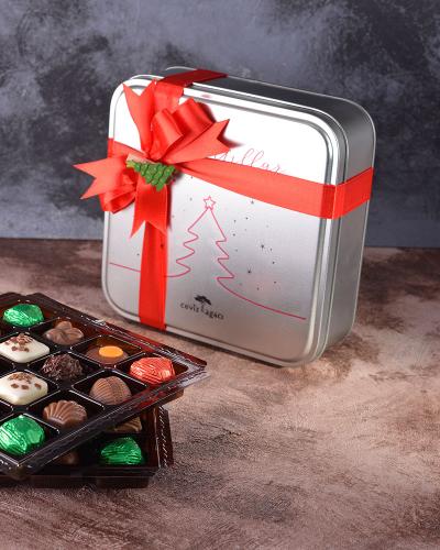 Yılbaşı Özel Tasarım Çikolata Kutusu Yılbaşı Özel Tasarım Çikolata Kutusu